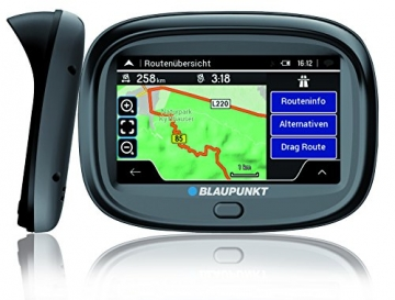 blaupunkt motopilot 43 eu lmu motorrad navi test. Black Bedroom Furniture Sets. Home Design Ideas